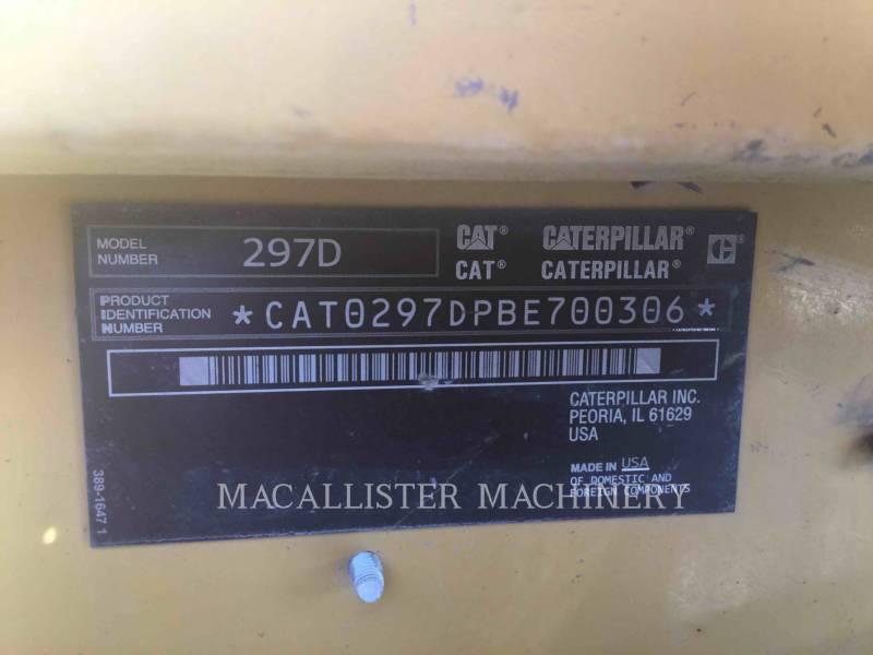 CATERPILLAR 多様地形対応ローダ 297D equipment  photo 5