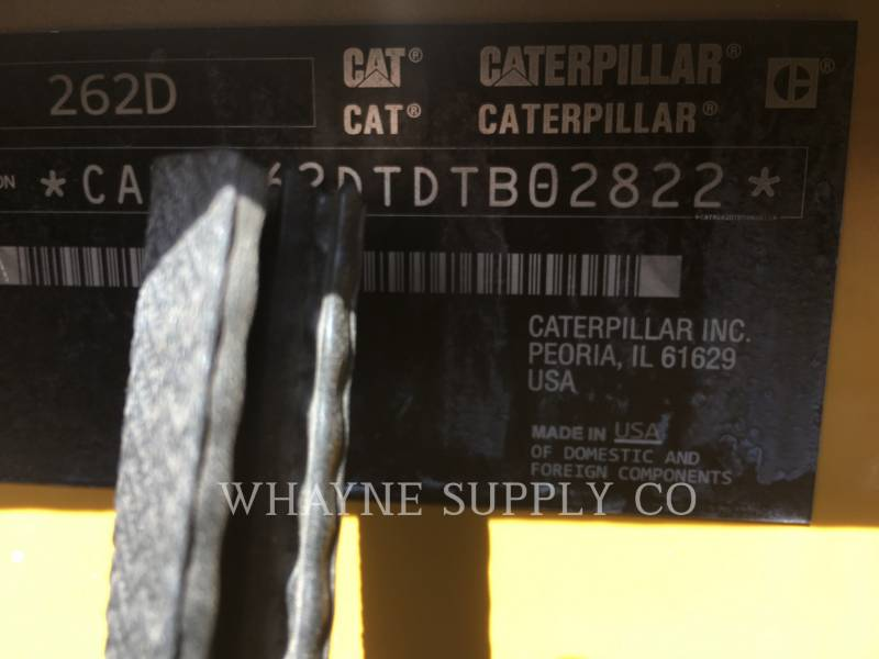 CATERPILLAR SKID STEER LOADERS 262D equipment  photo 5
