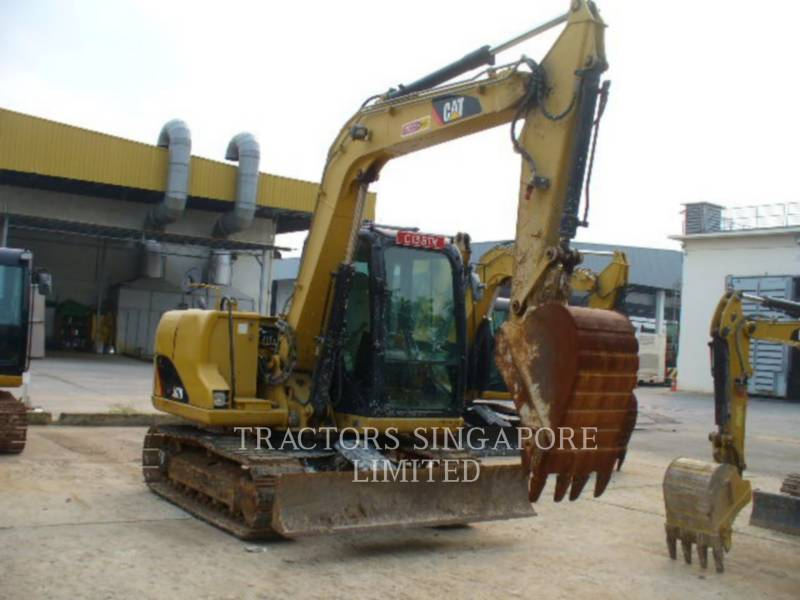 CATERPILLAR PELLES SUR CHAINES 307D equipment  photo 2