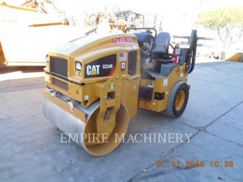 CATERPILLAR UNIVERSALWALZEN CC34B equipment  photo 4