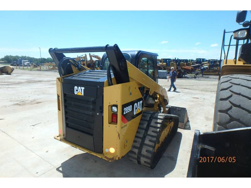 CATERPILLAR CARGADORES MULTITERRENO 289D equipment  photo 3