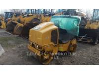 Equipment photo CATERPILLAR CB14B VIBRATORY DOUBLE DRUM ASPHALT 1