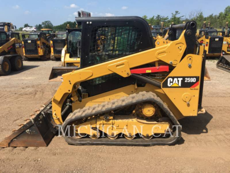 CATERPILLAR MULTI TERRAIN LOADERS 259D A2Q equipment  photo 8