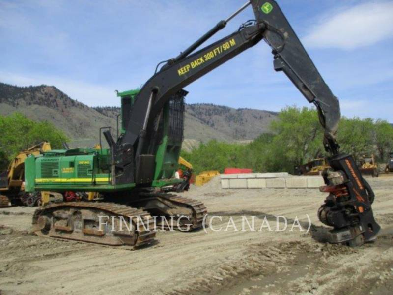 JOHN DEERE Forstwirtschaft –  Prozessor 2454D equipment  photo 3