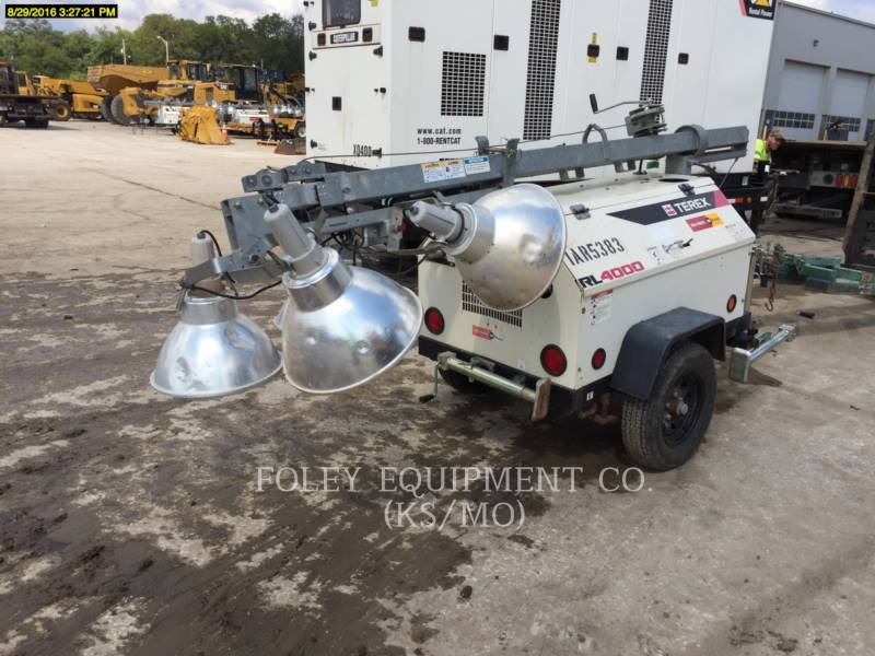 TEREX CORPORATION LIGHT TOWER RL4000 equipment  photo 4