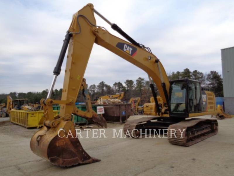 CATERPILLAR TRACK EXCAVATORS 330F 10 equipment  photo 3