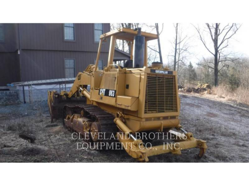 CATERPILLAR TRACK LOADERS 963 equipment  photo 4