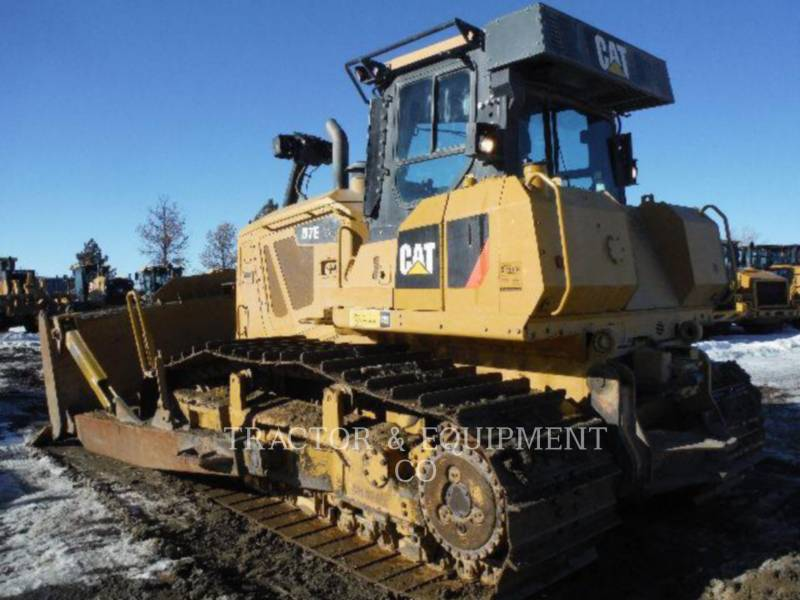 CATERPILLAR TRACK TYPE TRACTORS D7E LGP equipment  photo 1