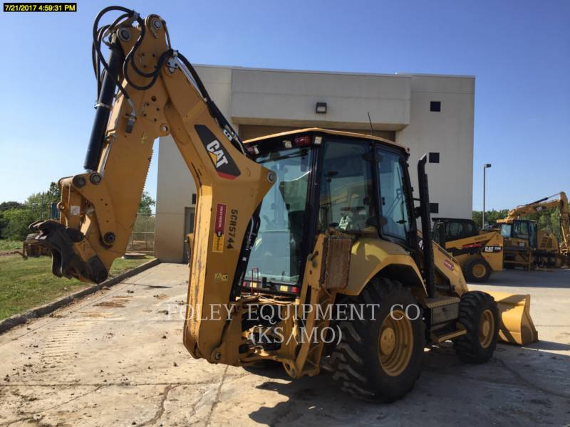 CATERPILLAR RETROESCAVADEIRAS 416F2 equipment  photo 4