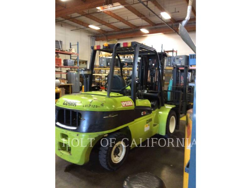 CLARK FORKLIFTS C55SD equipment  photo 3