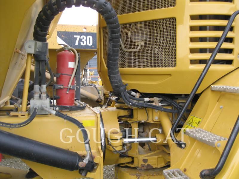 CATERPILLAR KNICKGELENKTE MULDENKIPPER 730 equipment  photo 7