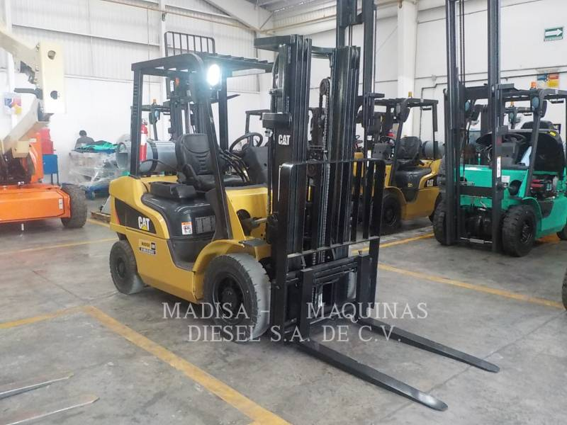 MITSUBISHI CATERPILLAR FORKLIFT MONTACARGAS 2P5000  equipment  photo 3