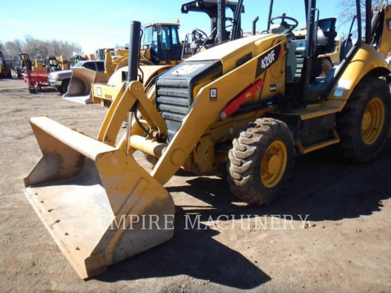 CATERPILLAR BAGGERLADER 420FST equipment  photo 4