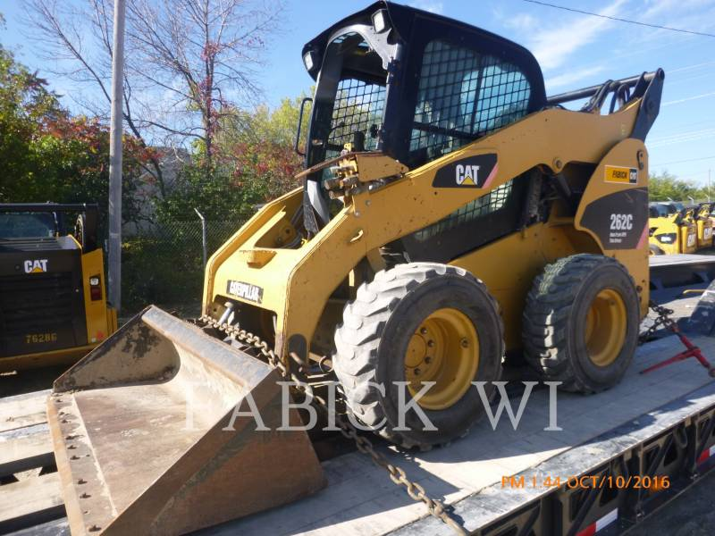 CATERPILLAR SKID STEER LOADERS 262C equipment  photo 4