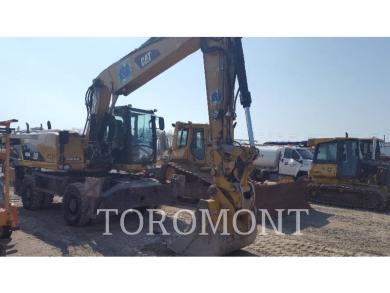 CATERPILLAR TRACK EXCAVATORS M318D equipment  photo 1