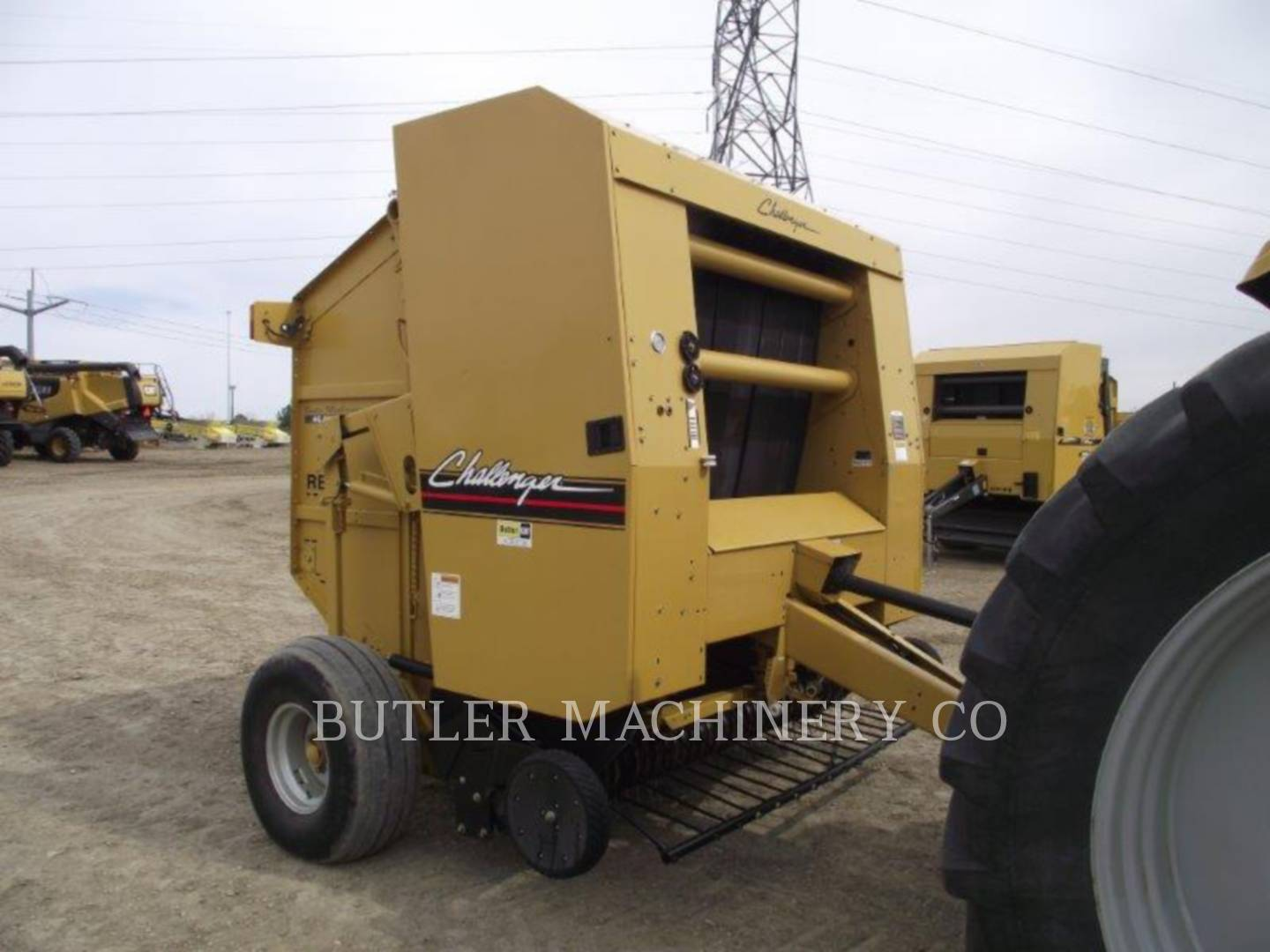 Detail photo of 2003 Challenger RB56 from Construction Equipment Guide