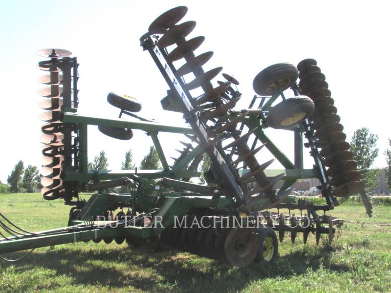 DEERE & CO. AG TILLAGE EQUIPMENT 635 equipment  photo 1