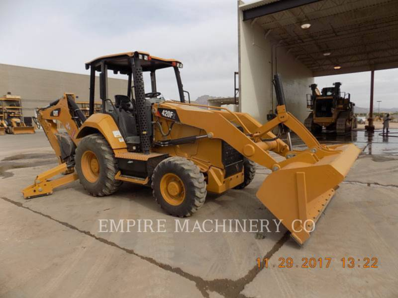 CATERPILLAR CHARGEUSES-PELLETEUSES 420F2 4EO equipment  photo 1