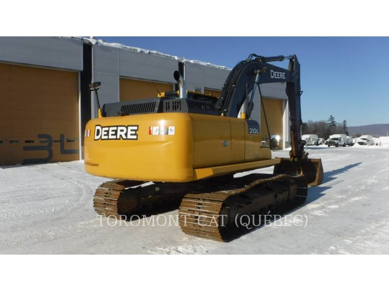 JOHN DEERE TRACK EXCAVATORS 210G equipment  photo 3