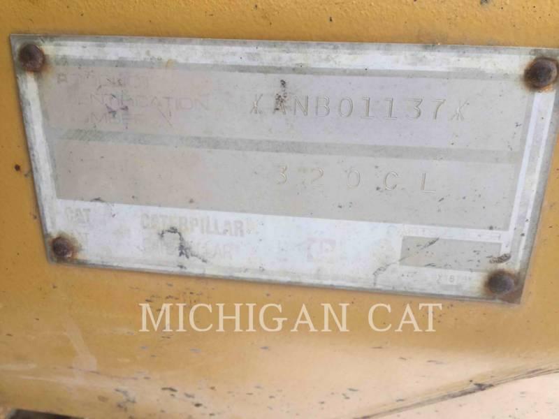 CATERPILLAR TRACK EXCAVATORS 320CL equipment  photo 8