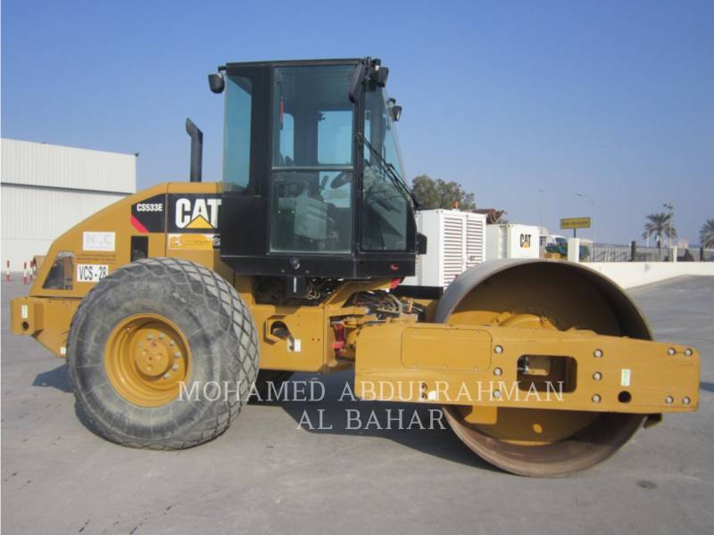 CATERPILLAR EINZELVIBRATIONSWALZE, GLATTBANDAGE CS 533 E equipment  photo 6