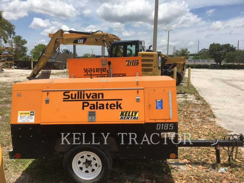 SULLIVAN COMPRESOR DE AIRE D185P JD equipment  photo 10