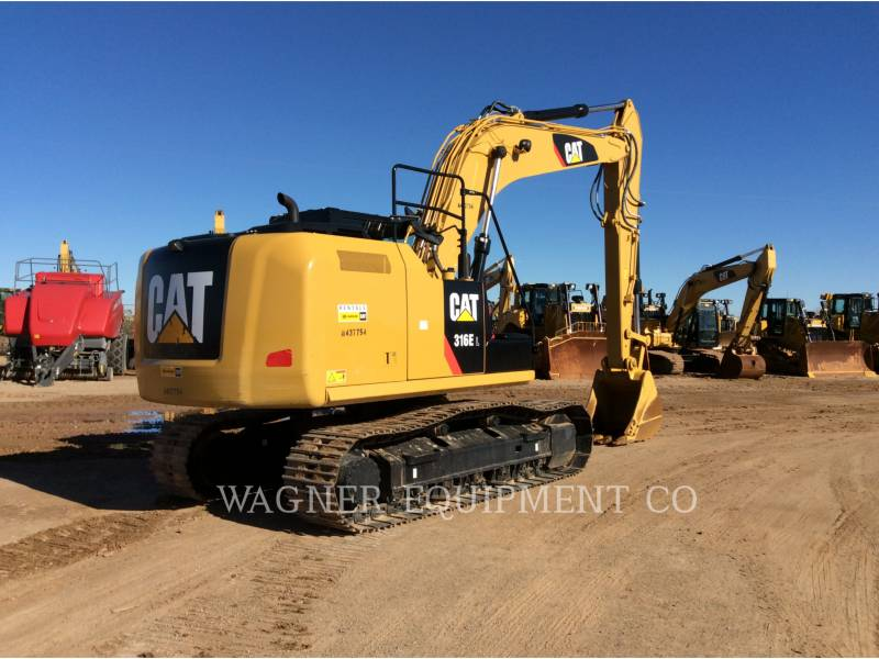 CATERPILLAR TRACK EXCAVATORS 316EL TC equipment  photo 2