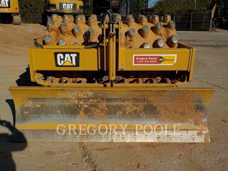 CATERPILLAR VIBRATORY SINGLE DRUM PAD CP56B equipment  photo 8
