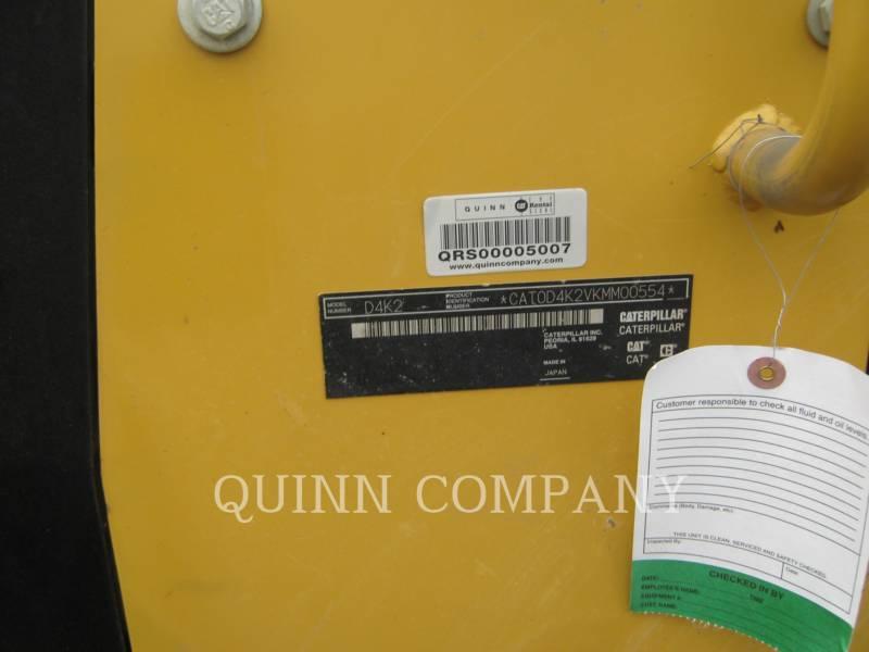 CATERPILLAR TRATTORE CINGOLATO DA MINIERA D4K2XL equipment  photo 7