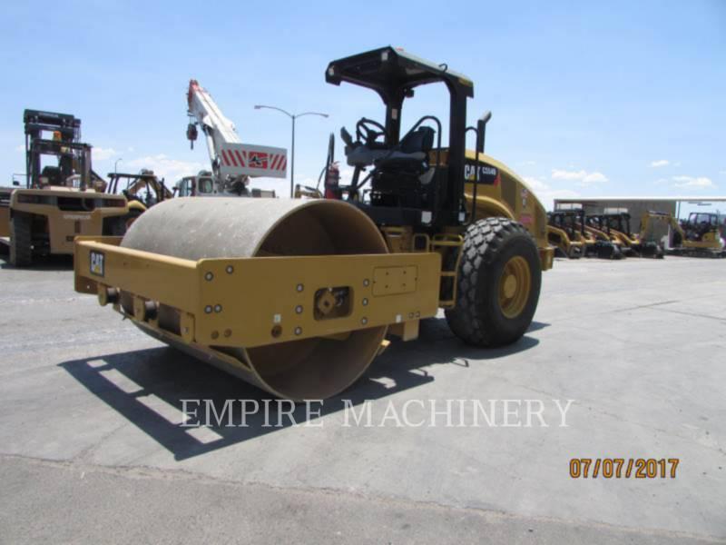 CATERPILLAR COMPATTATORE A SINGOLO TAMBURO VIBRANTE LISCIO CS54B equipment  photo 3