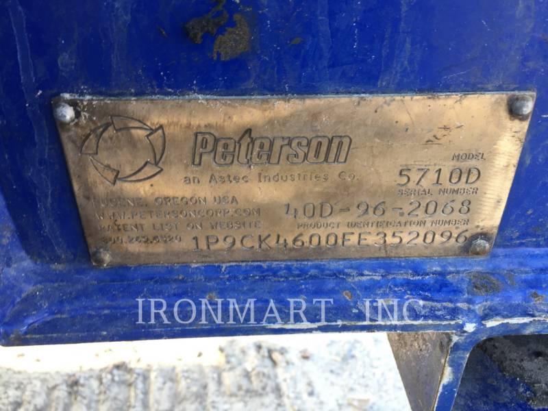 PETERSON CHIPPER, HORIZONTAL 5710D equipment  photo 15