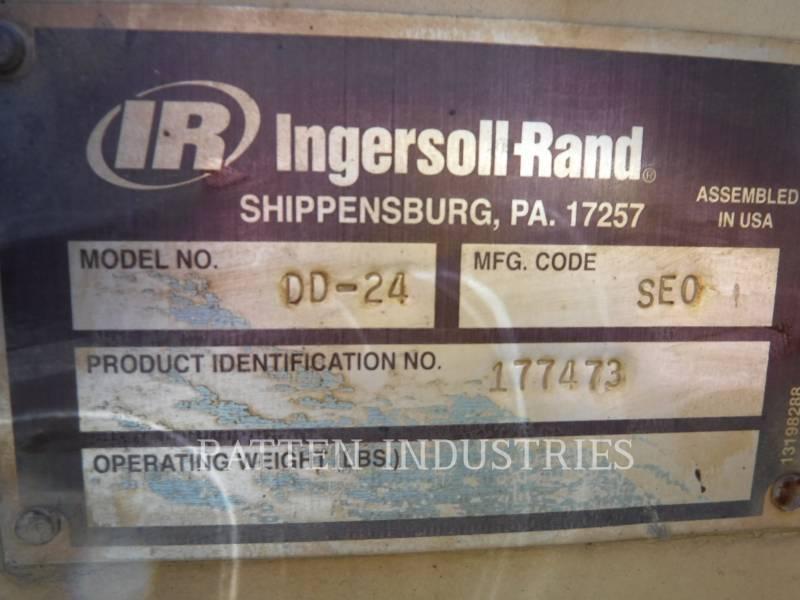 INGERSOLL-RAND VIBRATORY DOUBLE DRUM ASPHALT DD24 equipment  photo 5