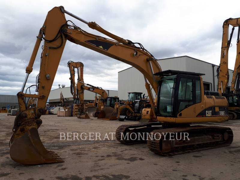 CATERPILLAR TRACK EXCAVATORS 318C equipment  photo 2