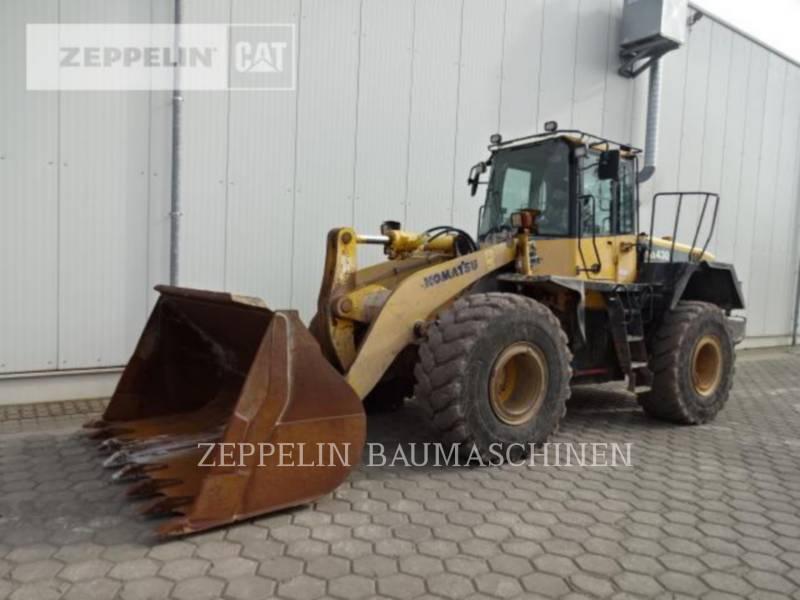 KOMATSU LTD. ŁADOWARKI KOŁOWE/ZINTEGROWANE NOŚNIKI NARZĘDZI WA430 equipment  photo 1