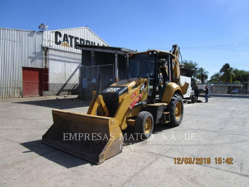 CATERPILLAR BAGGERLADER 416F2STLRC equipment  photo 1