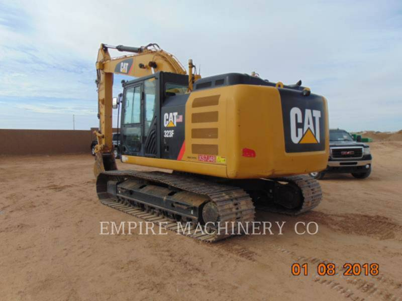 CATERPILLAR PELLES SUR CHAINES 323FL   ST equipment  photo 3