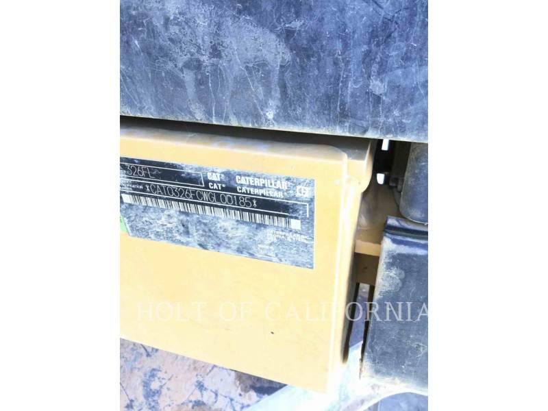 CATERPILLAR KETTEN-HYDRAULIKBAGGER 326FL equipment  photo 19
