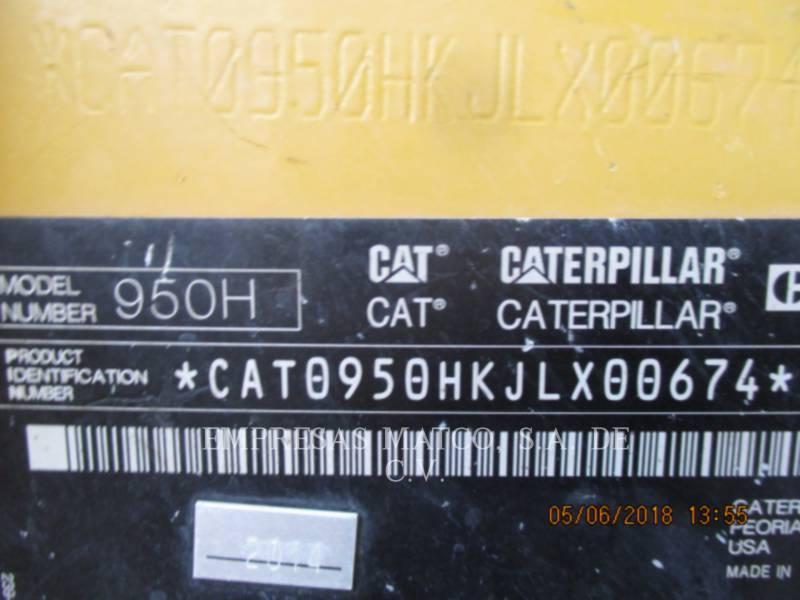 CATERPILLAR RADLADER/INDUSTRIE-RADLADER 950H equipment  photo 9