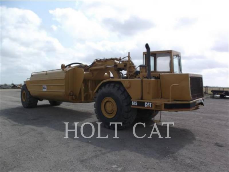 CATERPILLAR WHEEL TRACTOR SCRAPERS 615 equipment  photo 2