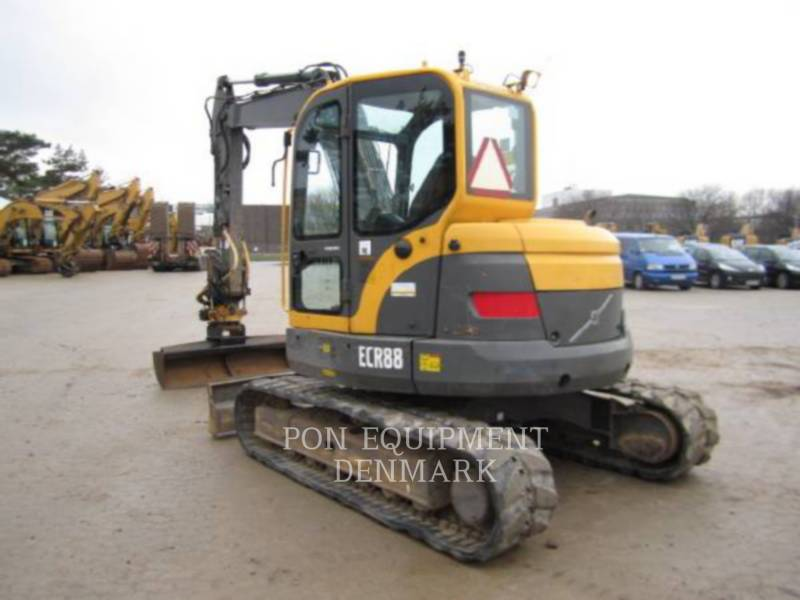 VOLVO CONSTRUCTION EQUIPMENT TRACK EXCAVATORS ECR88 equipment  photo 3