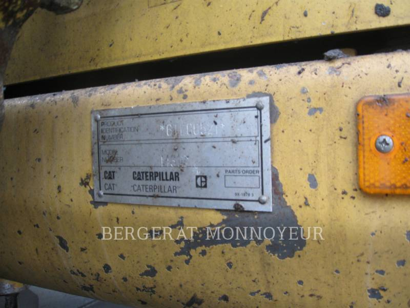 CATERPILLAR WHEEL EXCAVATORS M312 equipment  photo 5