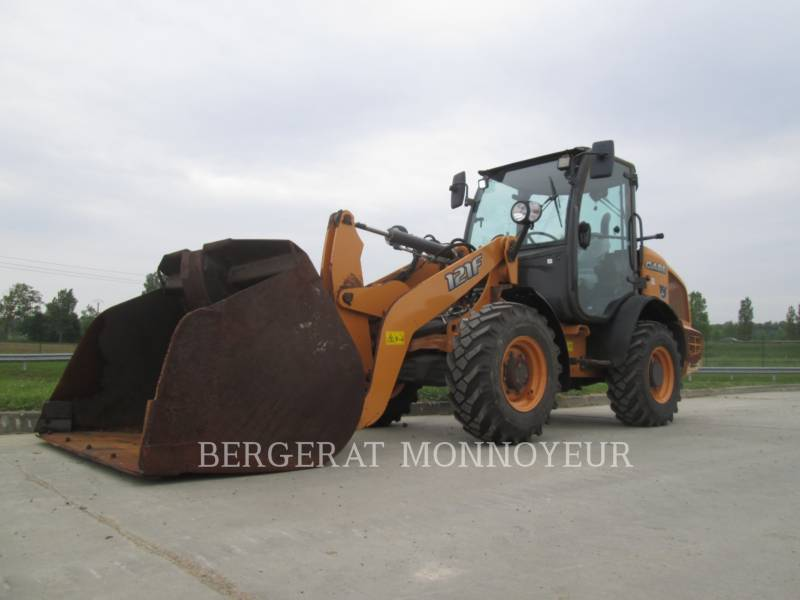 CASE WHEEL LOADERS/INTEGRATED TOOLCARRIERS 121F equipment  photo 1