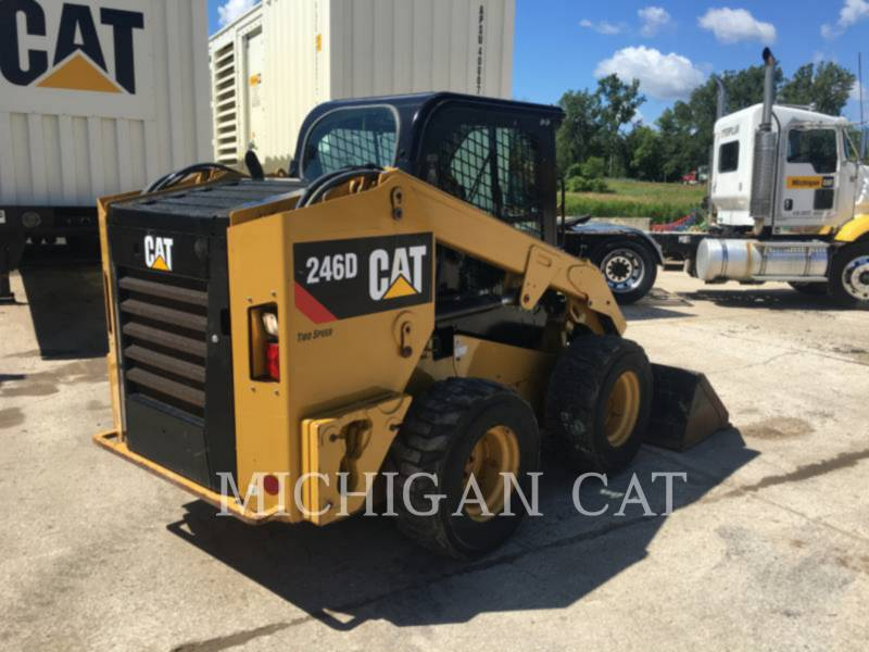 CATERPILLAR SKID STEER LOADERS 246D A2Q equipment  photo 3