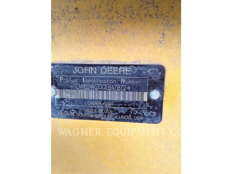 JOHN DEERE WHEEL LOADERS/INTEGRATED TOOLCARRIERS 624K equipment  photo 5