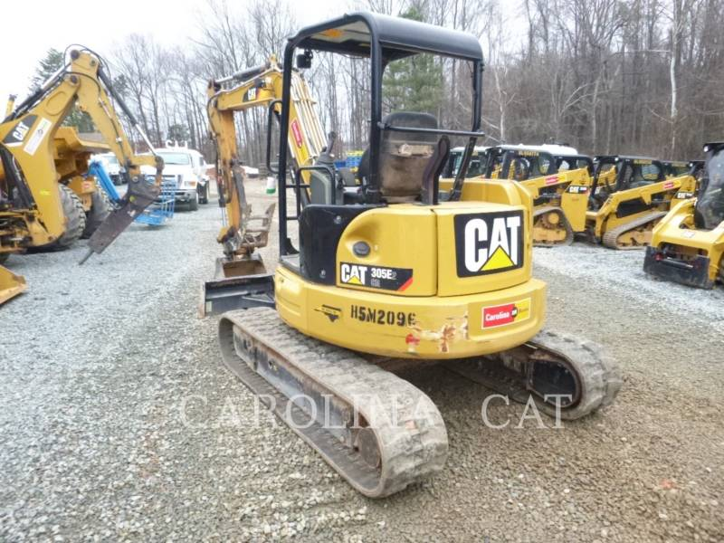 CATERPILLAR TRACK EXCAVATORS 305E2 CRTH equipment  photo 3