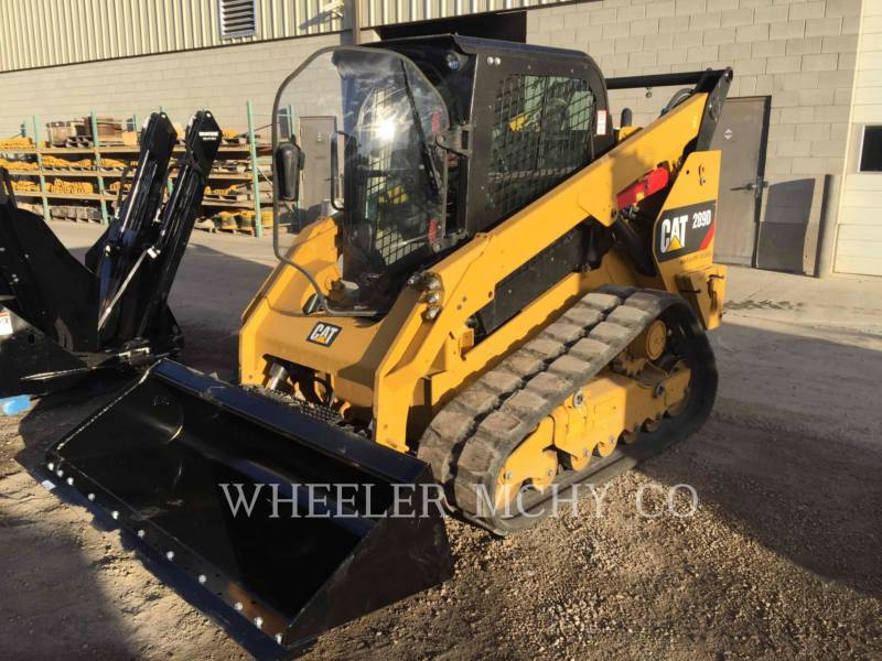 CATERPILLAR DELTALADER 289D C3 HF equipment  photo 7