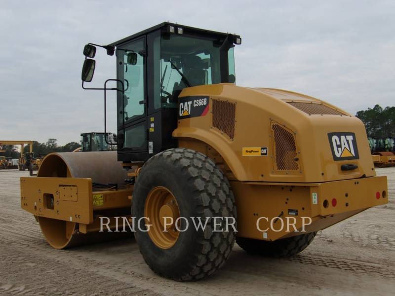 CATERPILLAR VIBRATORY SINGLE DRUM SMOOTH CS66B equipment  photo 4