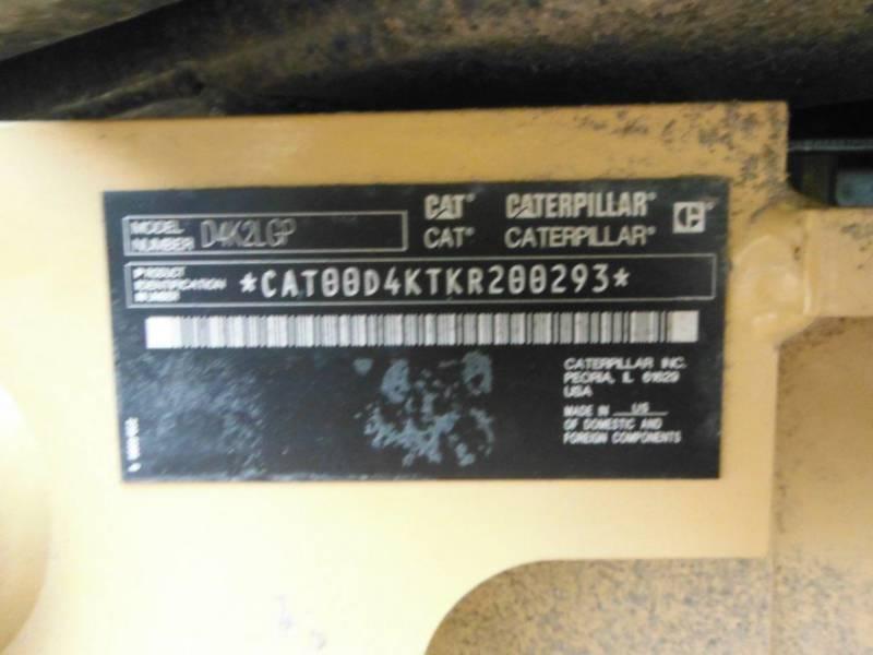 CATERPILLAR TRACK TYPE TRACTORS D4K2LGP equipment  photo 6
