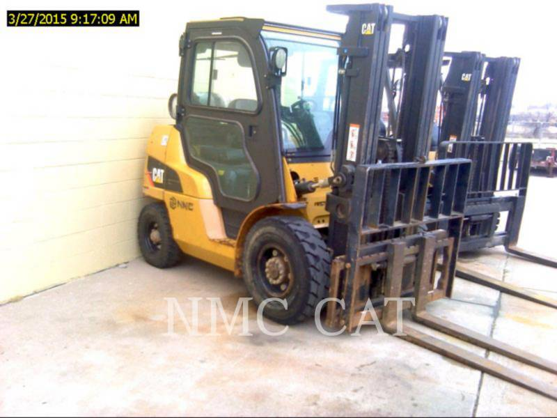 CATERPILLAR LIFT TRUCKS MONTACARGAS P8000_MC equipment  photo 2
