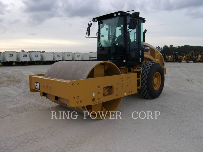 CATERPILLAR VIBRATORY DOUBLE DRUM ASPHALT CS66BCAB equipment  photo 1